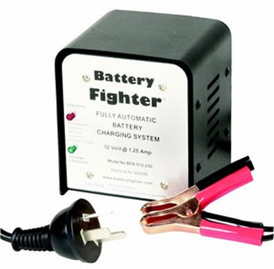 Powertek chargers battery fighter super smart 12v sla battery charger 125a sciox Image collections